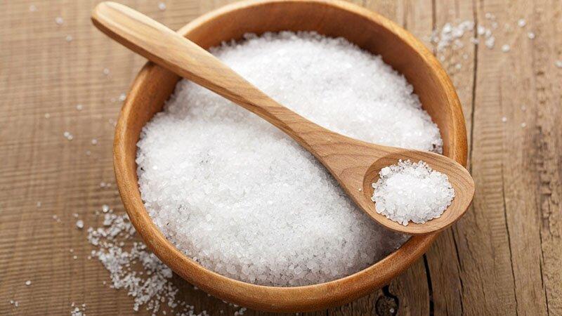 С солью
