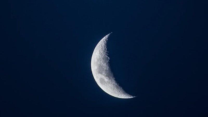 На убывающую луну